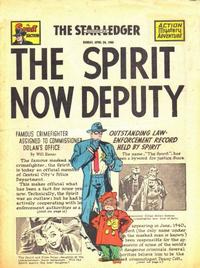 Cover Thumbnail for The Spirit (Register and Tribune Syndicate, 1940 series) #4/24/1949