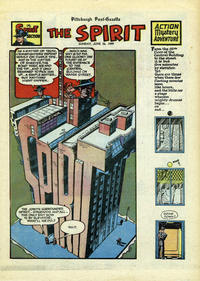 Cover Thumbnail for The Spirit (Register and Tribune Syndicate, 1940 series) #6/26/1949