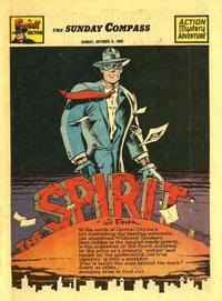 Cover Thumbnail for The Spirit (Register and Tribune Syndicate, 1940 series) #10/9/1949