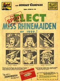 Cover Thumbnail for The Spirit (Register and Tribune Syndicate, 1940 series) #10/30/1949