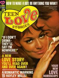 Cover Thumbnail for Teen Love Stories (Warren, 1967 series) #3
