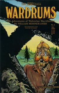 Cover Thumbnail for Journey: Wardrums (Fantagraphics, 1987 series) #2