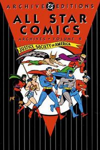 Cover Thumbnail for All Star Comics Archives (DC, 1991 series) #8