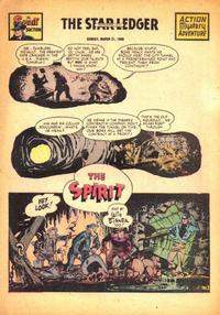 Cover Thumbnail for The Spirit (Register and Tribune Syndicate, 1940 series) #3/21/1948