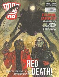 Cover Thumbnail for 2000 AD (Rebellion, 2001 series) #1461