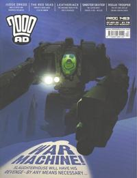 Cover Thumbnail for 2000 AD (Rebellion, 2001 series) #1463
