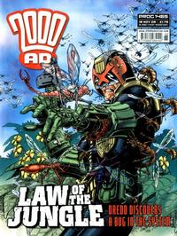 Cover Thumbnail for 2000 AD (Rebellion, 2001 series) #1465
