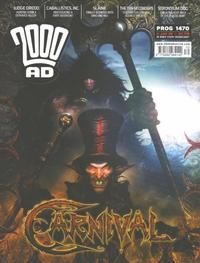 Cover Thumbnail for 2000 AD (Rebellion, 2001 series) #1470