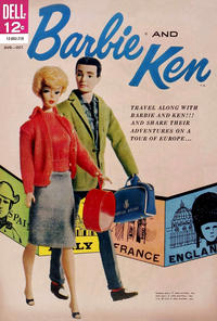 Cover Thumbnail for Barbie and Ken (Dell, 1962 series) #2