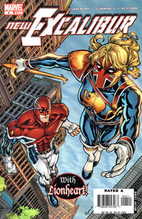 Cover Thumbnail for New Excalibur (Marvel, 2006 series) #4 [Direct Edition]