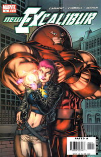 Cover Thumbnail for New Excalibur (Marvel, 2006 series) #5 [Direct Edition]