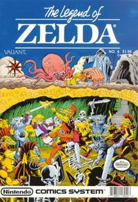 Cover Thumbnail for Link: The Legend of Zelda (Acclaim / Valiant, 1990 series) #4