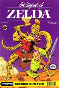 Cover Thumbnail for Link: The Legend of Zelda (Acclaim / Valiant, 1990 series) #5