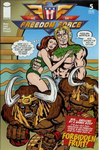 Cover Thumbnail for Freedom Force (Image, 2005 series) #5