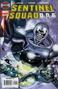 Cover Thumbnail for Sentinel Squad O*N*E (Marvel, 2006 series) #1