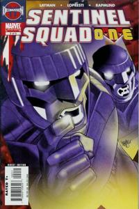 Cover Thumbnail for Sentinel Squad O*N*E (Marvel, 2006 series) #2