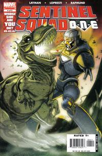 Cover Thumbnail for Sentinel Squad O*N*E (Marvel, 2006 series) #4