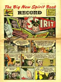 Cover Thumbnail for The Spirit (Register and Tribune Syndicate, 1940 series) #1/12/1947
