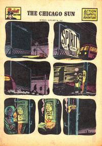 Cover Thumbnail for The Spirit (Register and Tribune Syndicate, 1940 series) #1/26/1947