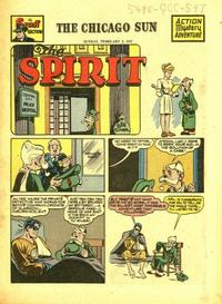Cover Thumbnail for The Spirit (Register and Tribune Syndicate, 1940 series) #2/2/1947