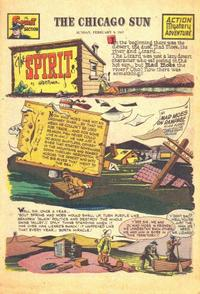 Cover Thumbnail for The Spirit (Register and Tribune Syndicate, 1940 series) #2/9/1947