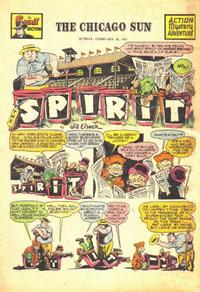 Cover Thumbnail for The Spirit (Register and Tribune Syndicate, 1940 series) #2/16/1947