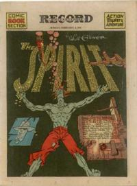 Cover Thumbnail for The Spirit (Register and Tribune Syndicate, 1940 series) #2/2/1941