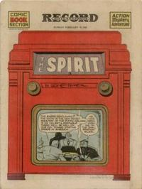 Cover Thumbnail for The Spirit (Register and Tribune Syndicate, 1940 series) #2/16/1941