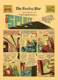 Cover Thumbnail for The Spirit (Register and Tribune Syndicate, 1940 series) #2/23/1941