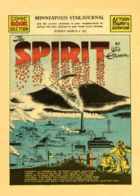 Cover Thumbnail for The Spirit (Register and Tribune Syndicate, 1940 series) #3/9/1941 [Minneapolis Star Journal edition]