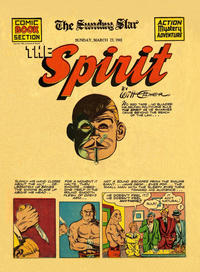 Cover Thumbnail for The Spirit (Register and Tribune Syndicate, 1940 series) #3/23/1941