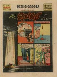 Cover Thumbnail for The Spirit (Register and Tribune Syndicate, 1940 series) #4/13/1941