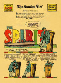 Cover Thumbnail for The Spirit (Register and Tribune Syndicate, 1940 series) #4/20/1941