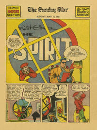 Cover Thumbnail for The Spirit (Register and Tribune Syndicate, 1940 series) #5/11/1941