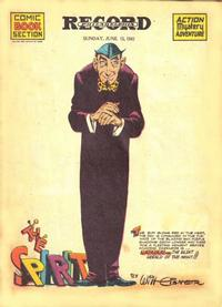 Cover Thumbnail for The Spirit (Register and Tribune Syndicate, 1940 series) #6/15/1941