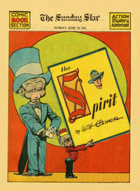 Cover Thumbnail for The Spirit (Register and Tribune Syndicate, 1940 series) #6/29/1941