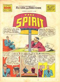 Cover Thumbnail for The Spirit (Register and Tribune Syndicate, 1940 series) #8/31/1941