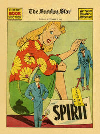 Cover Thumbnail for The Spirit (Register and Tribune Syndicate, 1940 series) #9/7/1941