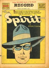 Cover Thumbnail for The Spirit (Register and Tribune Syndicate, 1940 series) #11/2/1941