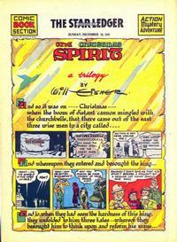 Cover Thumbnail for The Spirit (Register and Tribune Syndicate, 1940 series) #12/28/1941 [Newark NJ Star Ledger edition]