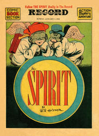 Cover Thumbnail for The Spirit (Register and Tribune Syndicate, 1940 series) #1/4/1942