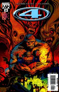 Cover Thumbnail for Marvel Knights 4 (Marvel, 2004 series) #25