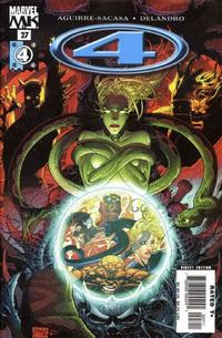 Cover Thumbnail for Marvel Knights 4 (Marvel, 2004 series) #27