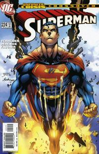 Cover Thumbnail for Superman (DC, 1987 series) #224 [Direct Sales]