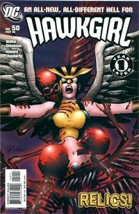 Cover Thumbnail for Hawkgirl (DC, 2006 series) #50 [First Printing]