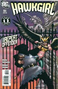 Cover for Hawkgirl (DC, 2006 series) #51