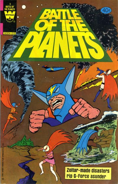 Cover for Battle of the Planets (Western, 1979 series) #9