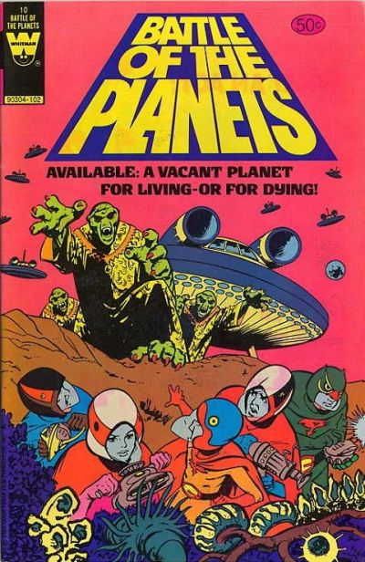 Cover for Battle of the Planets (Western, 1979 series) #10