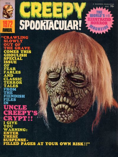 Cover for Creepy Annual (Warren, 1971 series) #1972