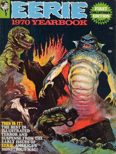 Cover for Eerie Yearbook (Warren, 1969 series) #1970